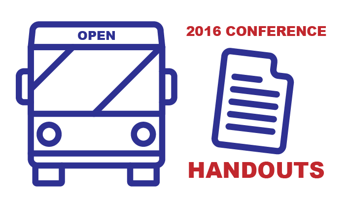 2016 Conference Handouts