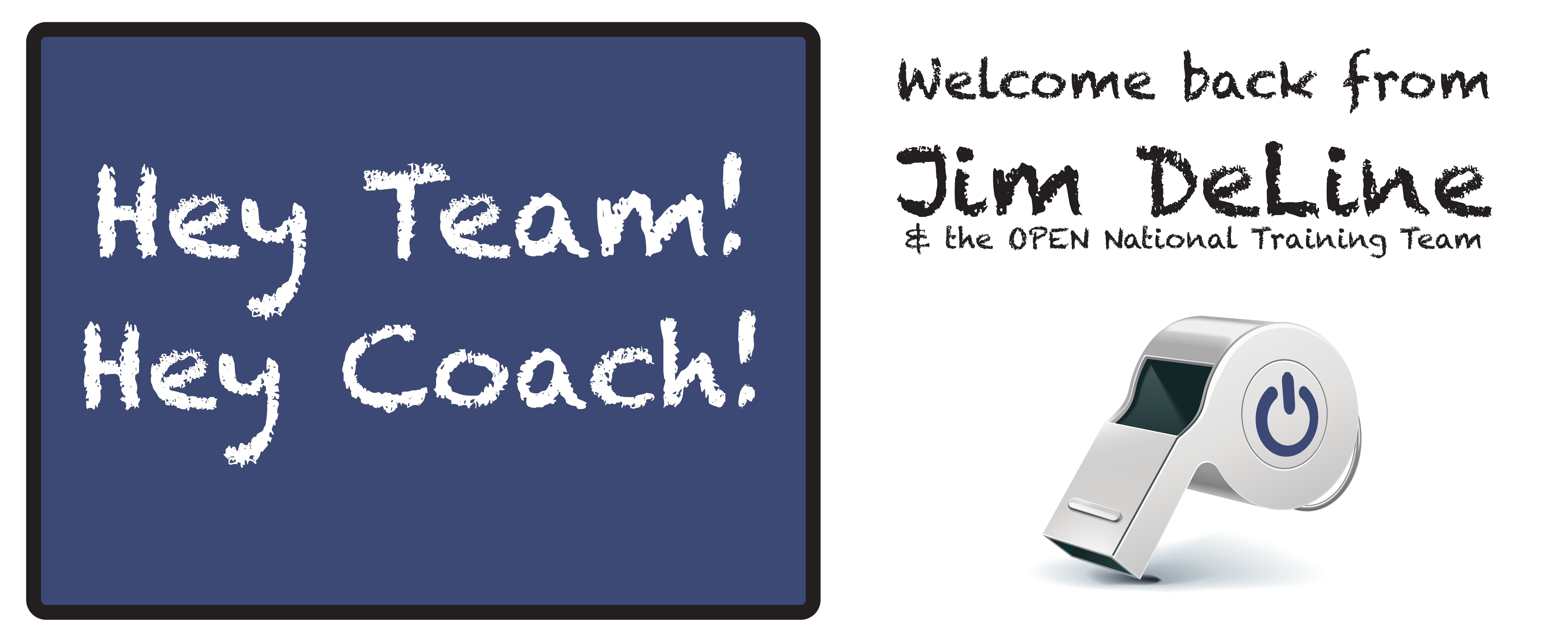 Jim DeLine's Welcome Back Message (2016)